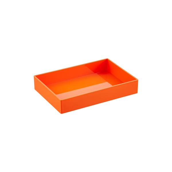 Orange Poppin Letter Tray Storage Kit