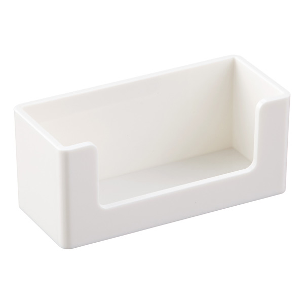 White Poppin Business Card Holder The Container Store