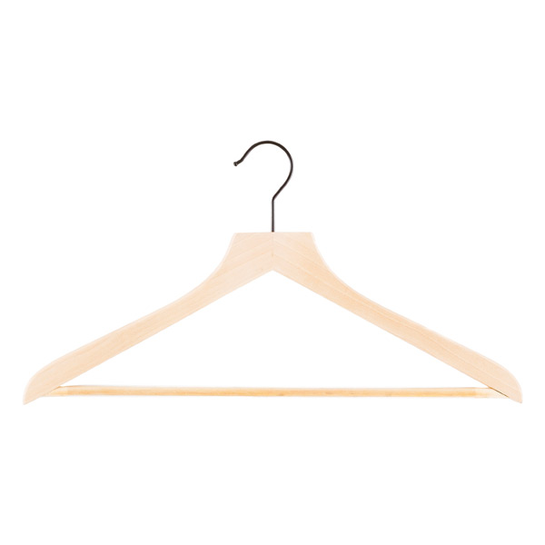 ff265d14f Petite Basic Lotus Wooden Hangers Pkg/6 | The Container Store