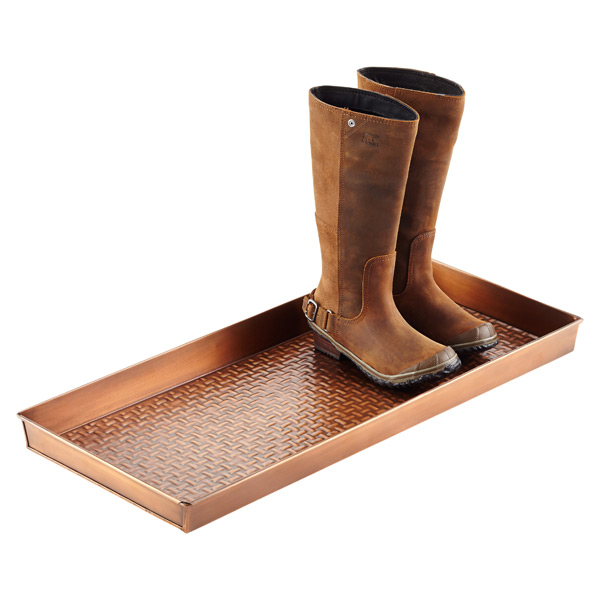 Copper Boot Trays ...
