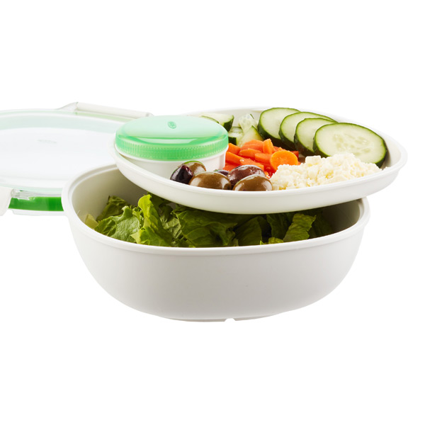 OXO Good Grips Round On the Go Salad Container The Container Store