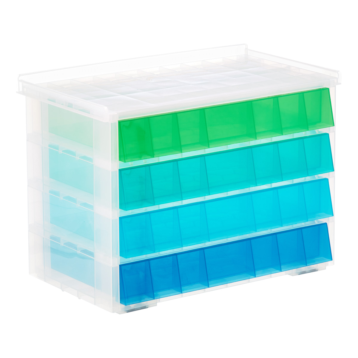 Blue Aquarium 4 Drawer Storage Unit ...