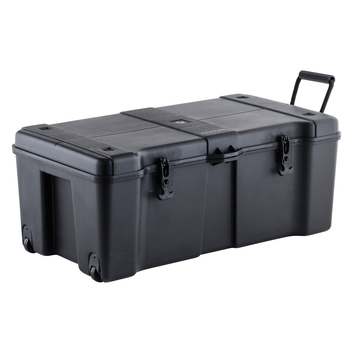 Superbe Black Ultra Storage Trunk With Wheels