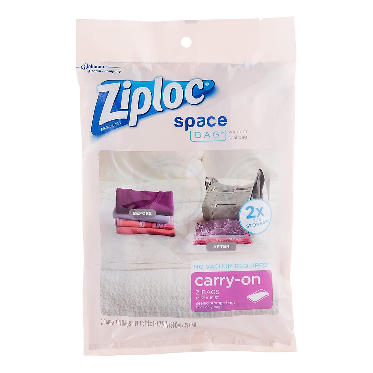 Ziploc space bags travel space bags by the container store reheart Images