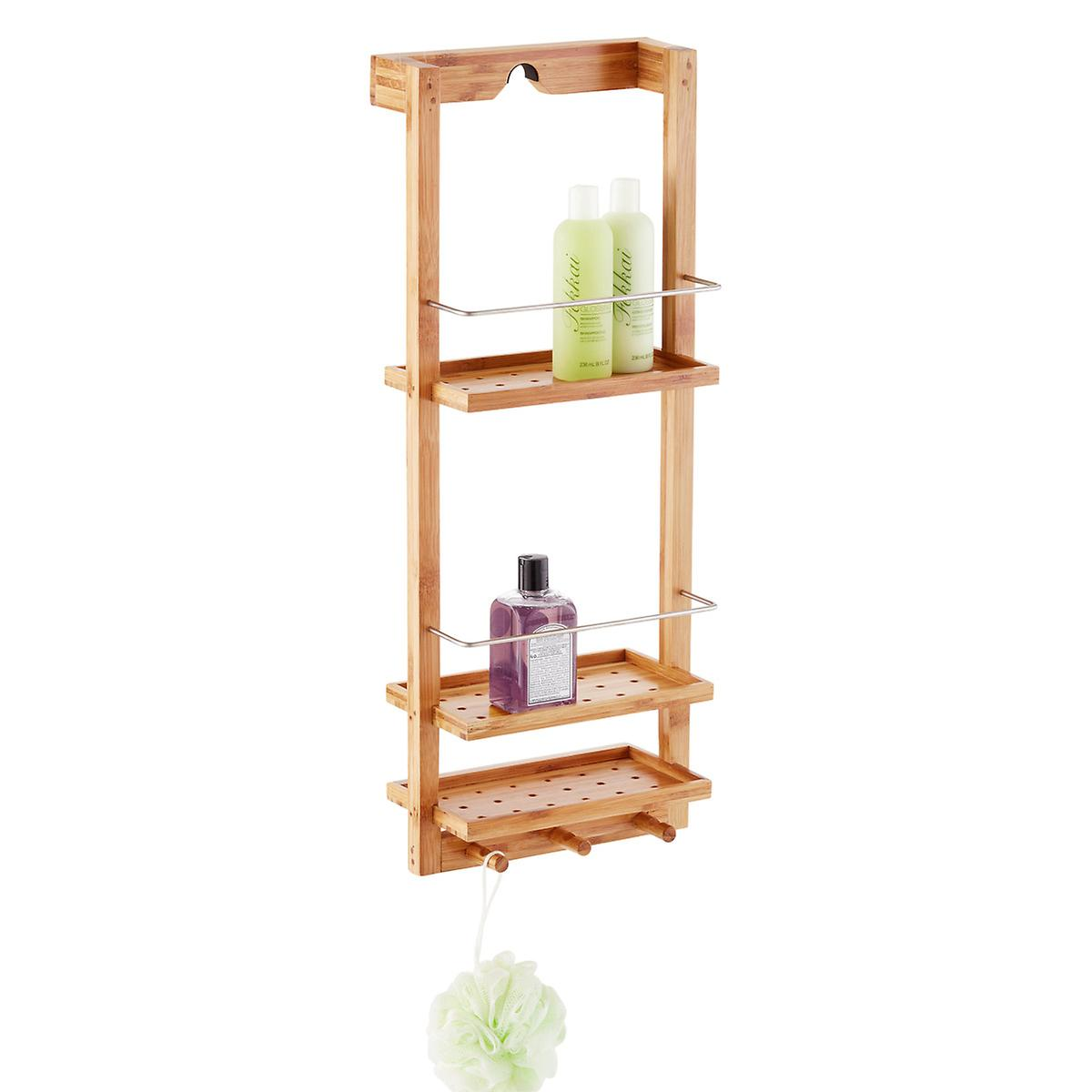 Zen 3-Tier Shower Caddy | The Container Store