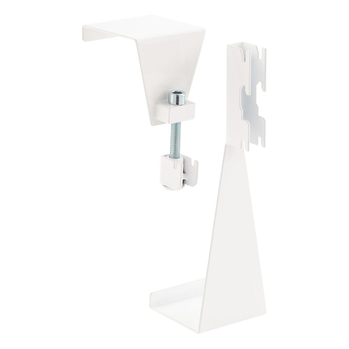 White Elfa Utility Over The Door Hooks