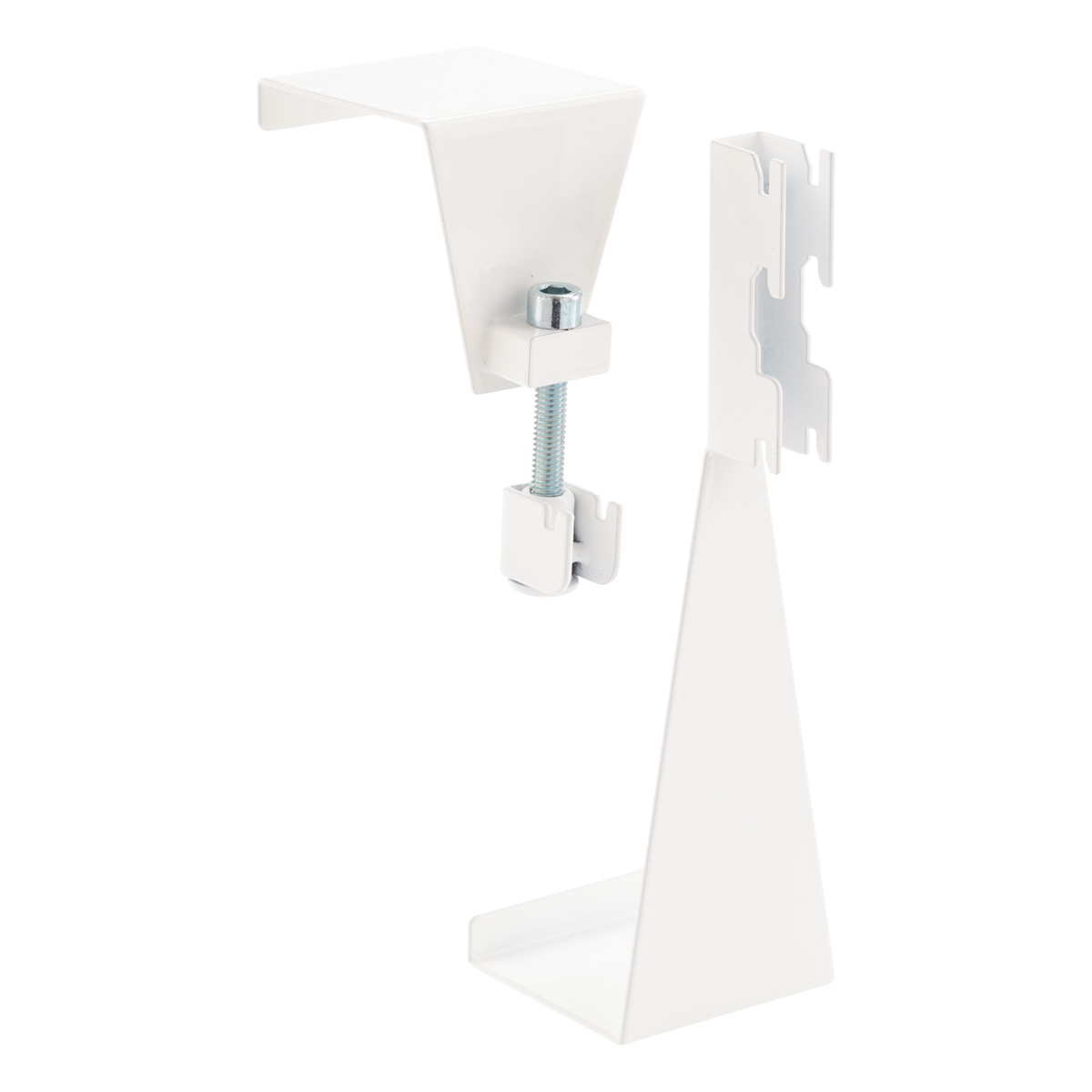 Superbe White Elfa Utility Over The Door Hooks ...