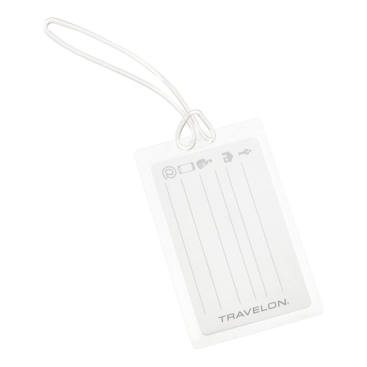 Travelon Self-Laminating Luggage Tags | The Container Store