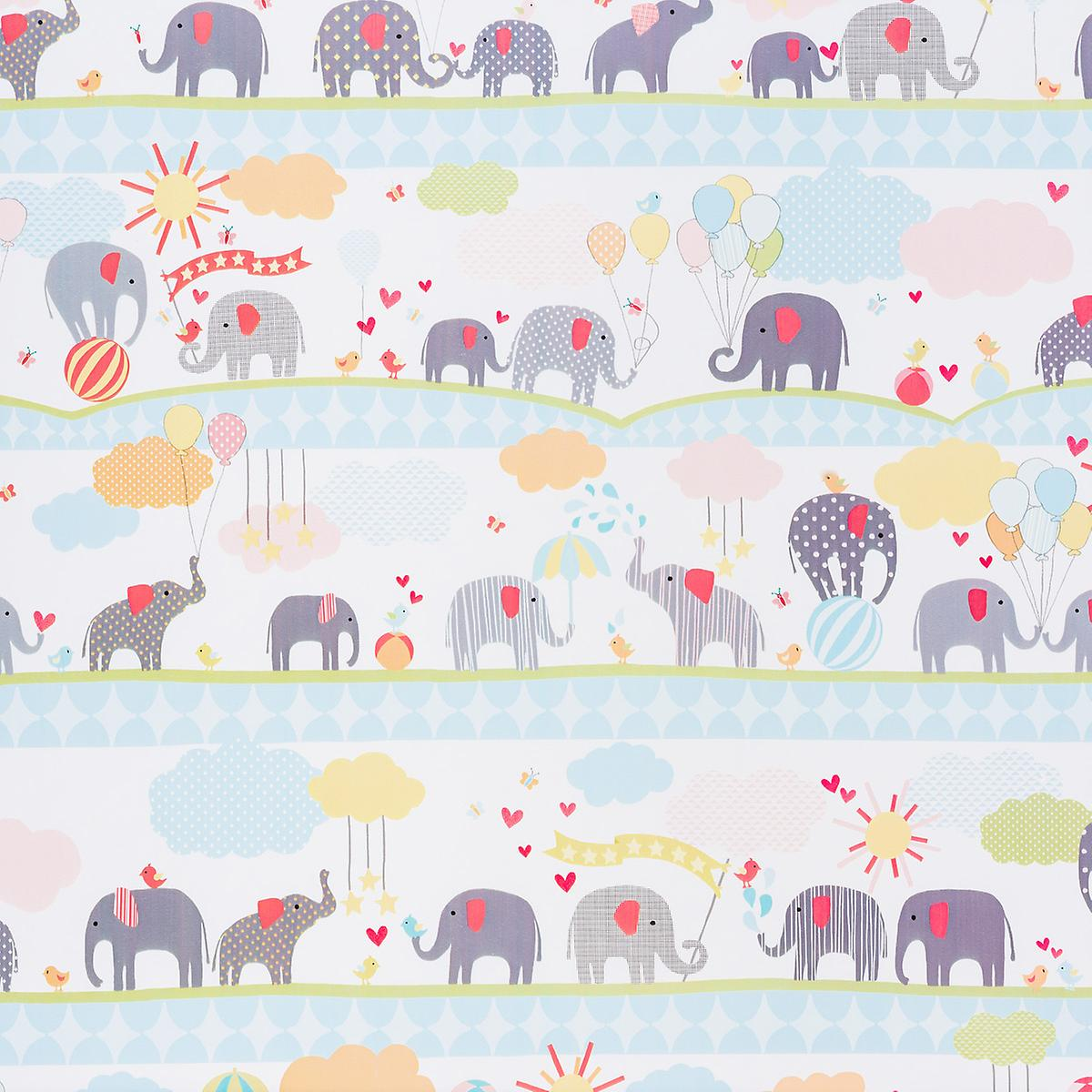Baby Elephants Wrapping Paper The Container Store