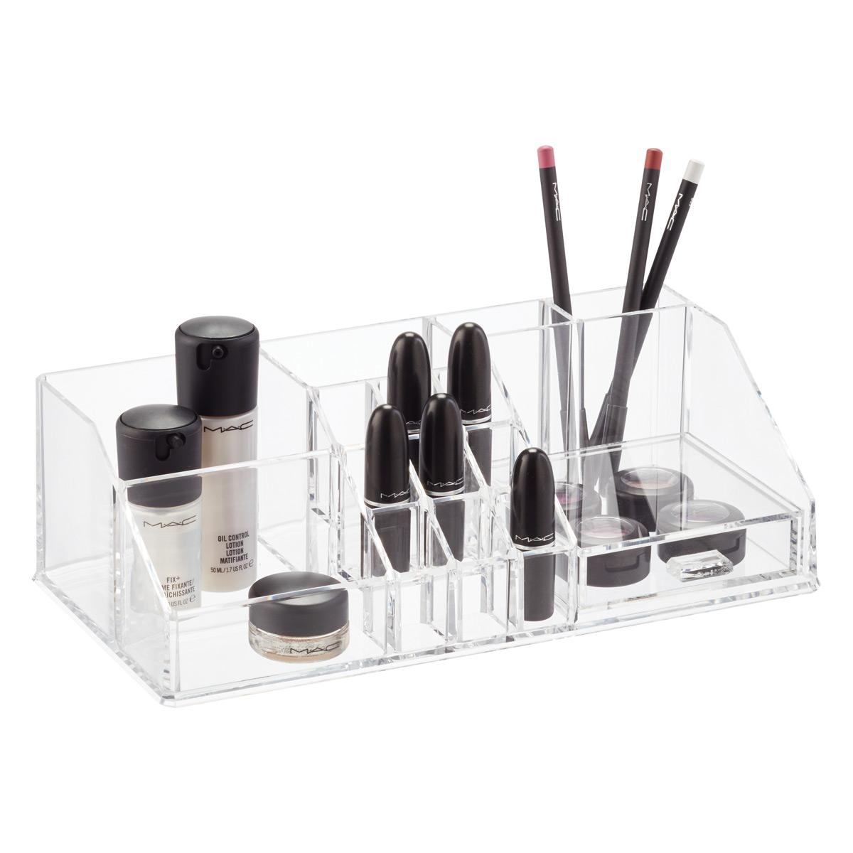 Acrylic Makeup Organizer With Drawer