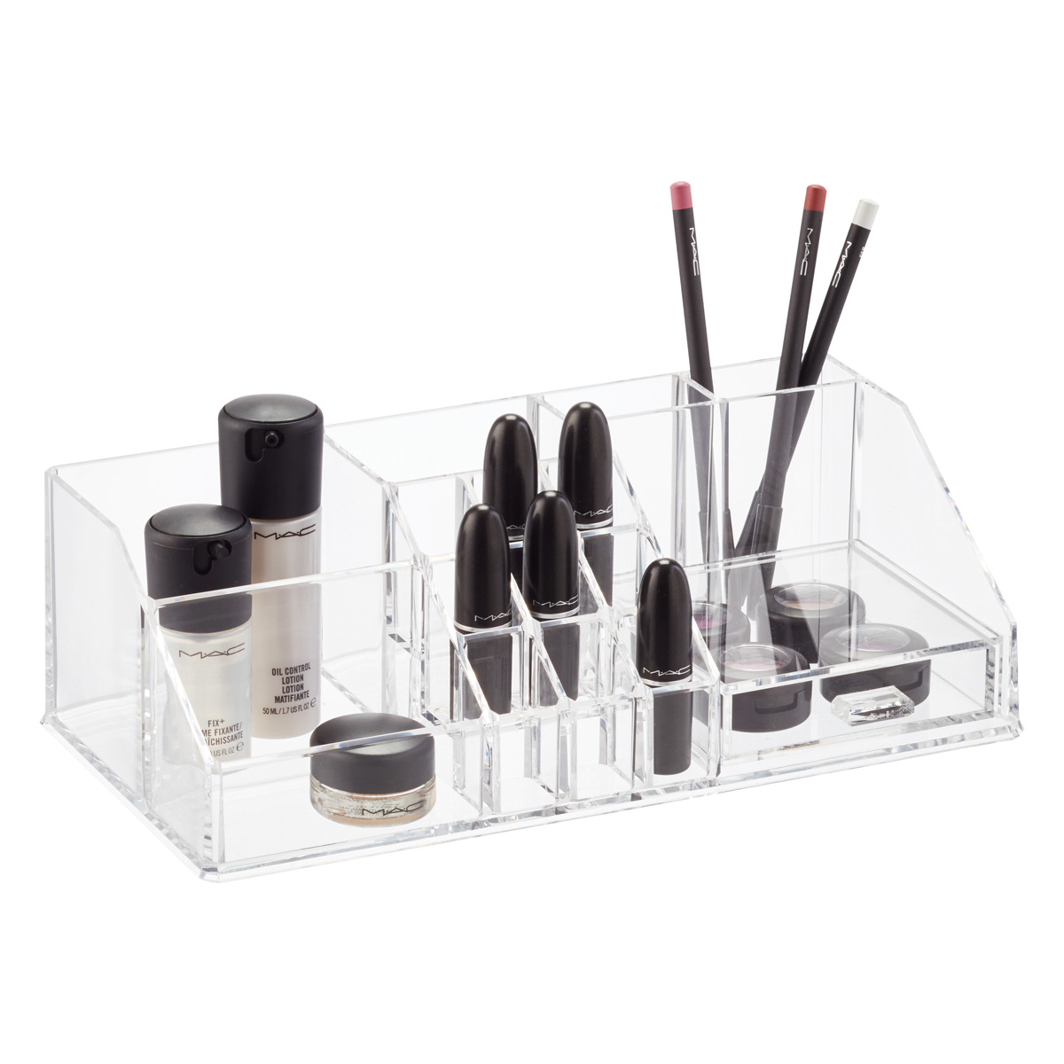 Marvelous Acrylic Makeup Organizer With Drawer ...