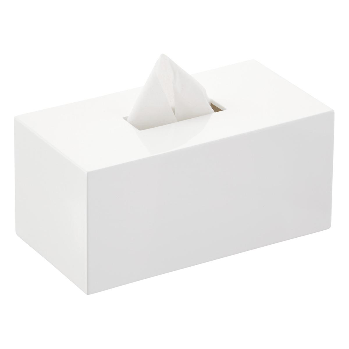 Lacquered Rectangular Tissue Box Cover The Container Store