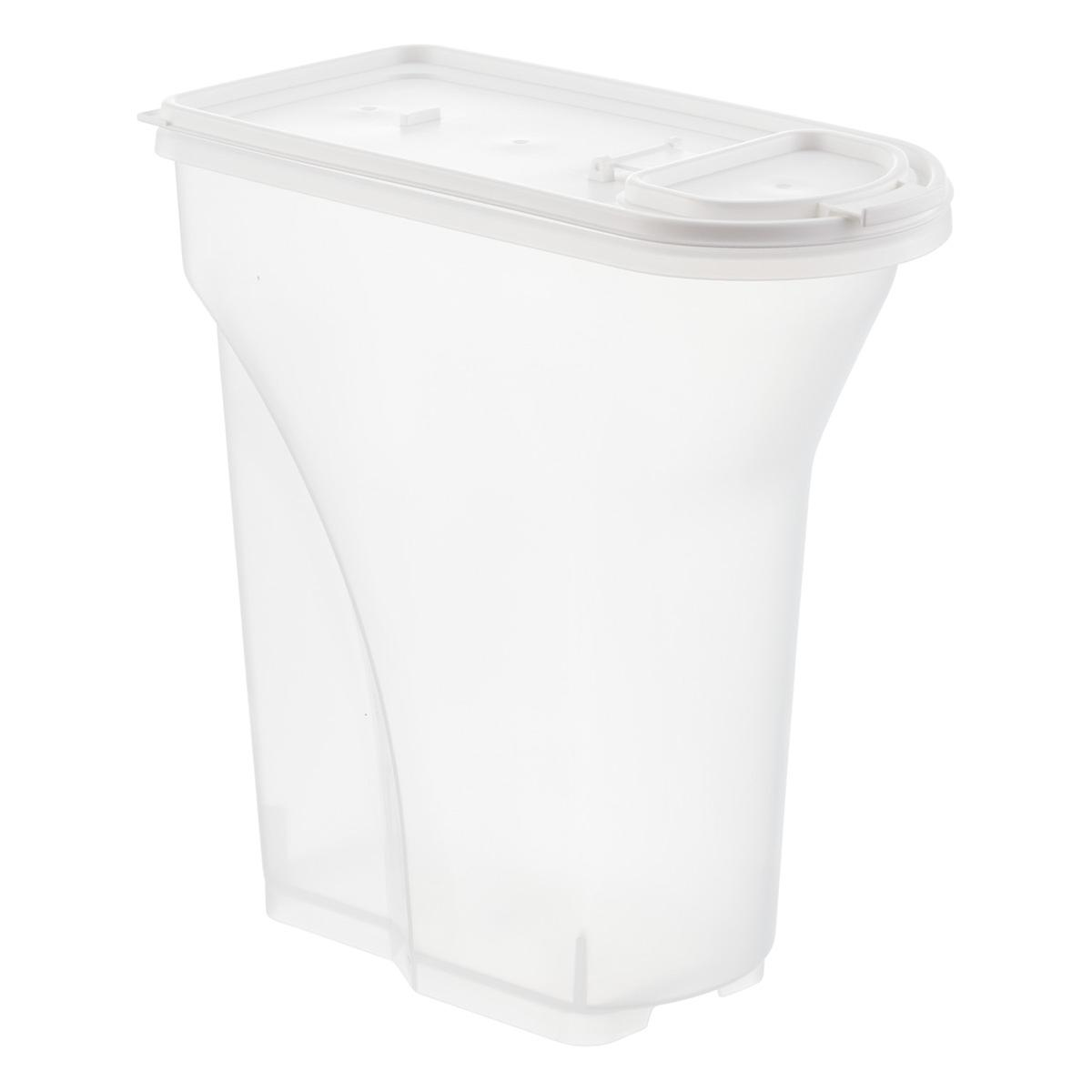 Iris 5 lb Pet Food Container The Container Store