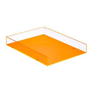 Neon Orange Poppin Acrylic Pencil Cup The Container Store