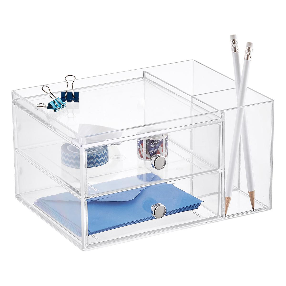 2 Drawer Desk Organizer