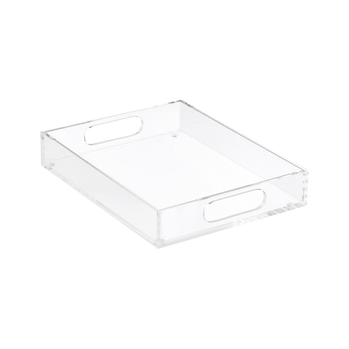 Small Premium Acrylic Paper Tray | The Container Store