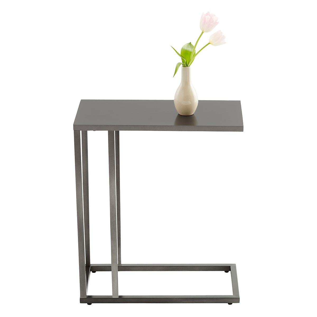 Anthracite c table the container store for Table align center