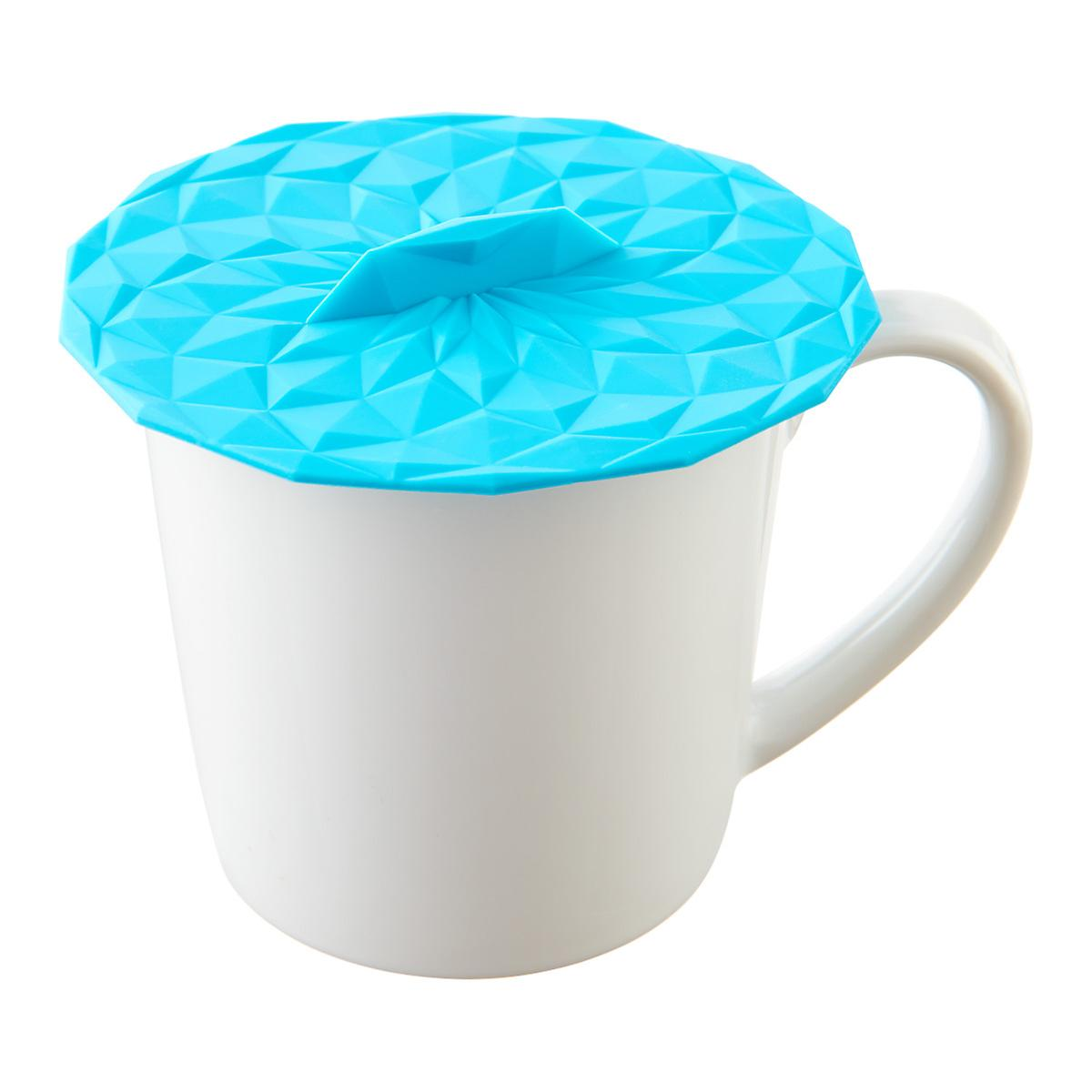 Teal Silicone Drink Covers   The Container Store