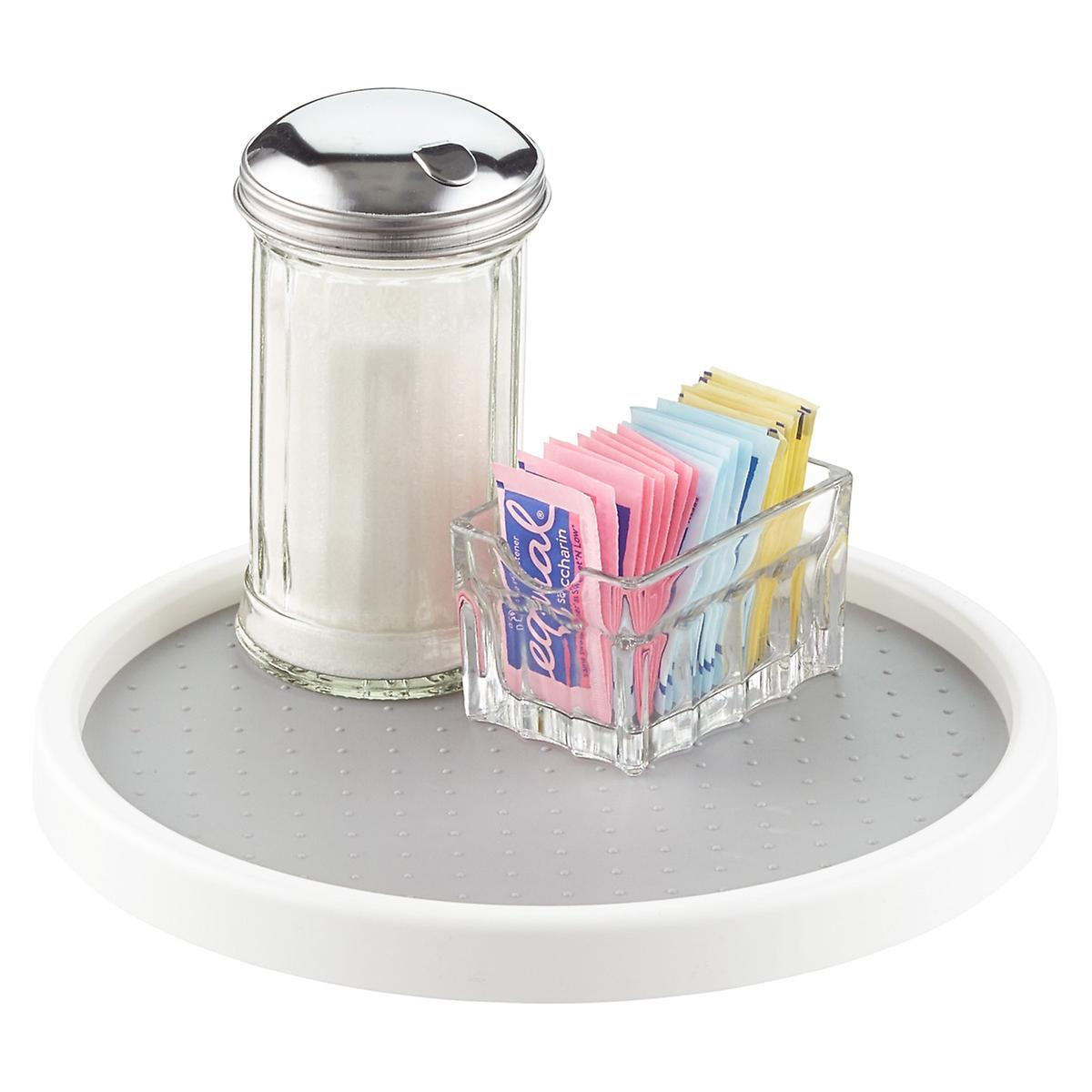madesmart white lazy susan the container store madesmart white lazy susan