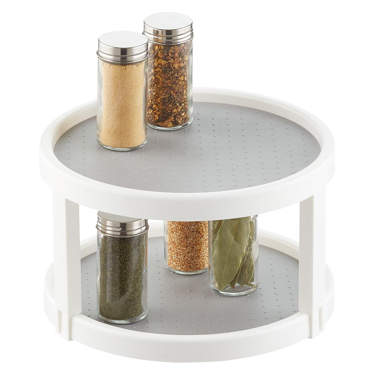 Lazy Susan Double Turntable The Container Store