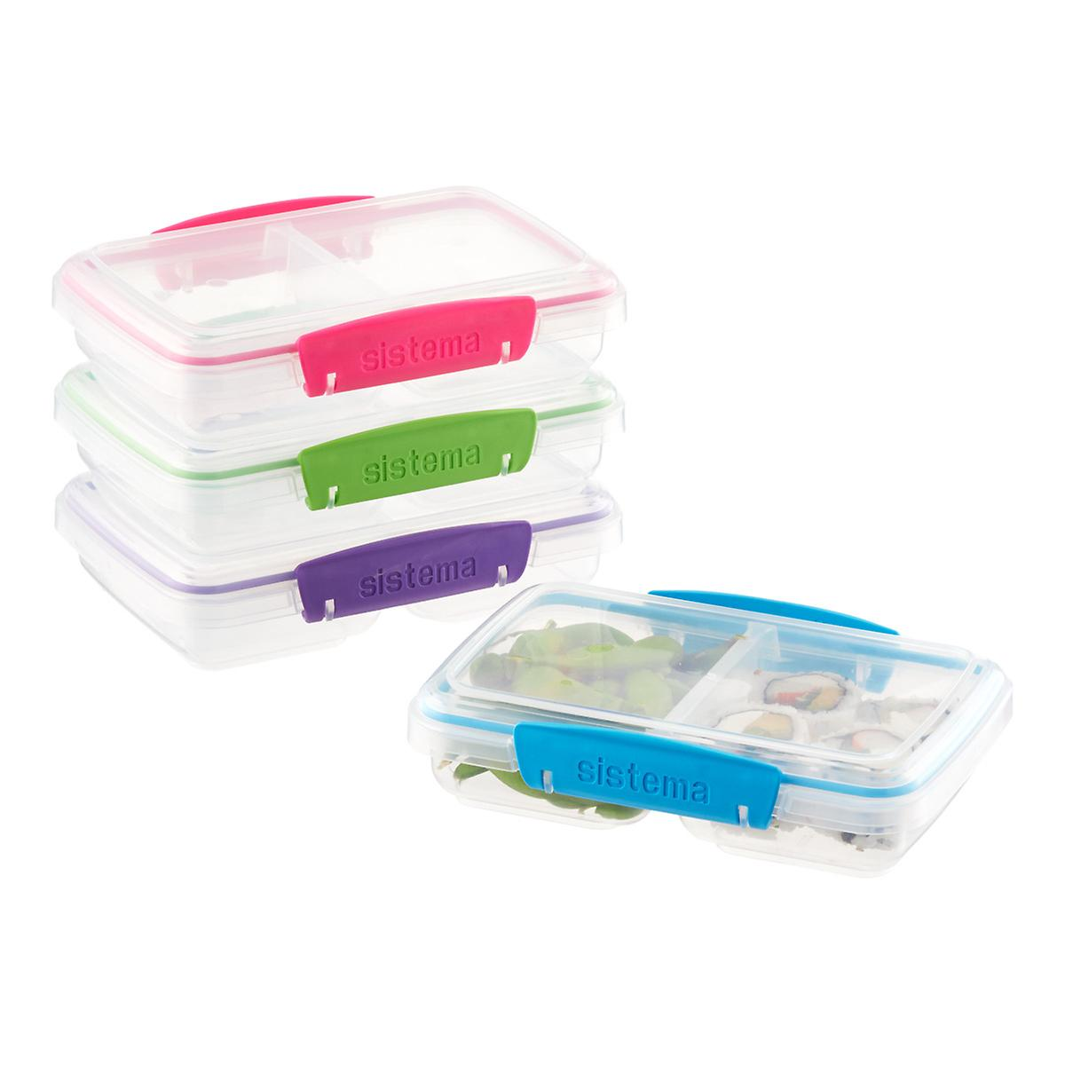 Sistema Small Split to Go Bento Container The Container Store