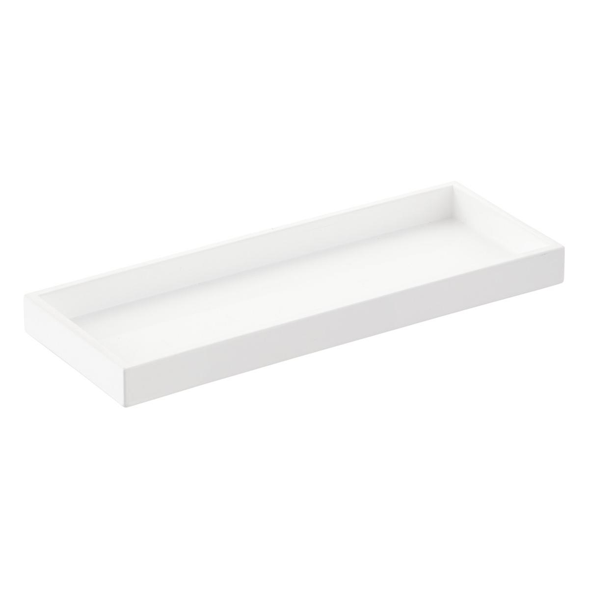 white bathroom accessories - Bathroom Accessories Vanity Tray