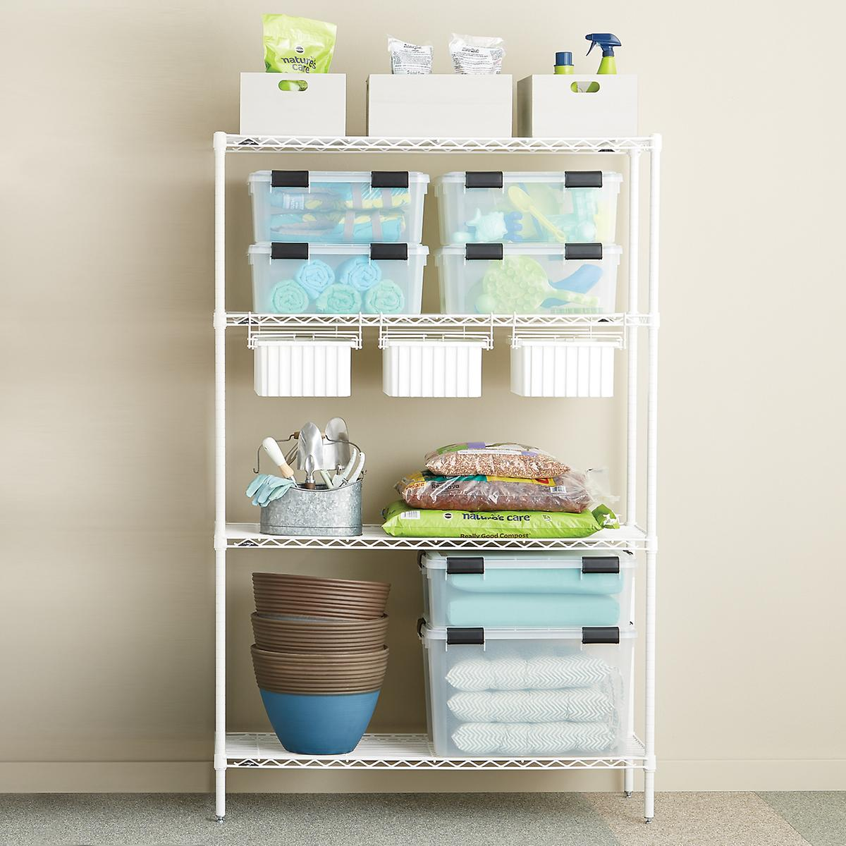 InterMetro Gardening Solution with Drawers   The Container Store