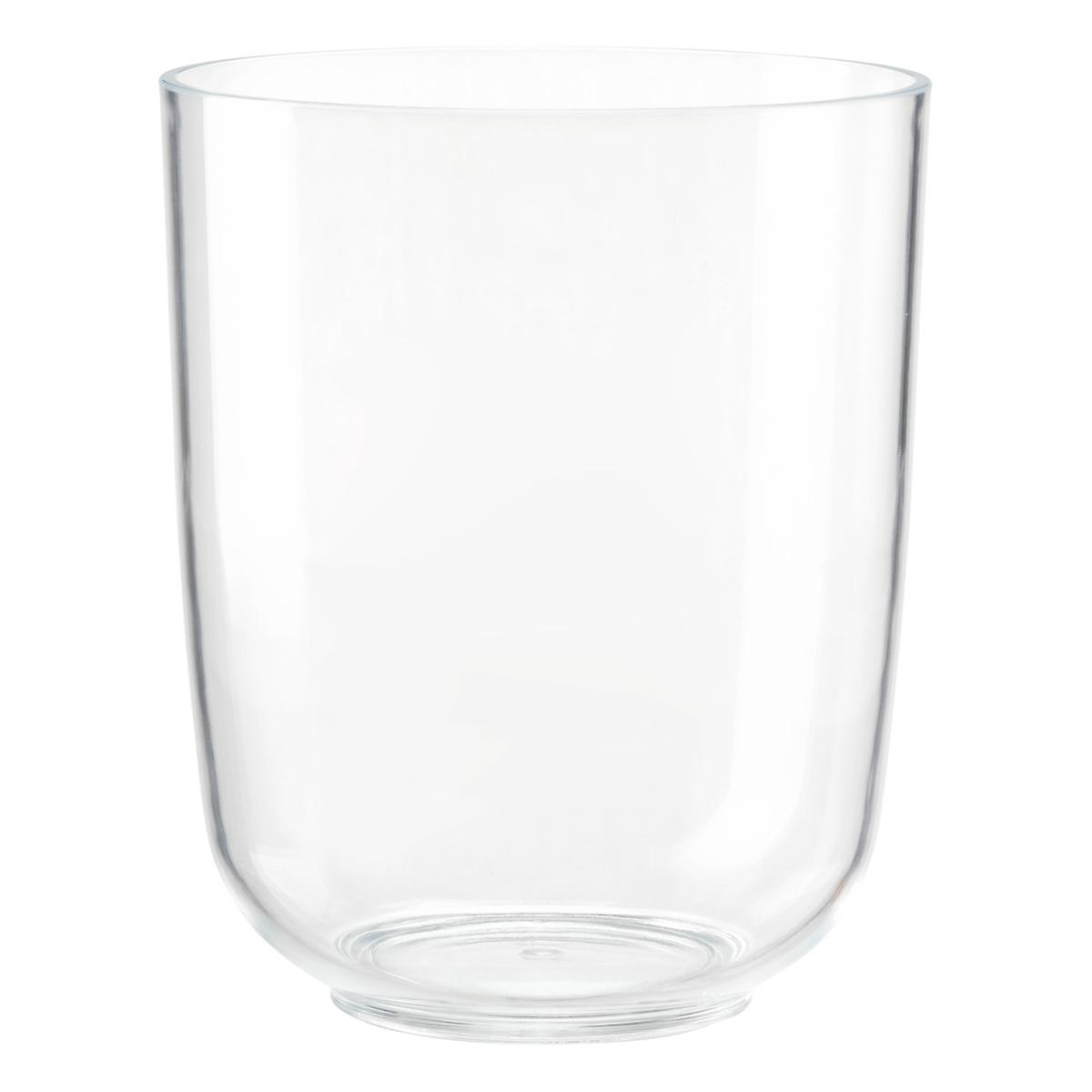 cleara acrylic trash canumbra | the container store