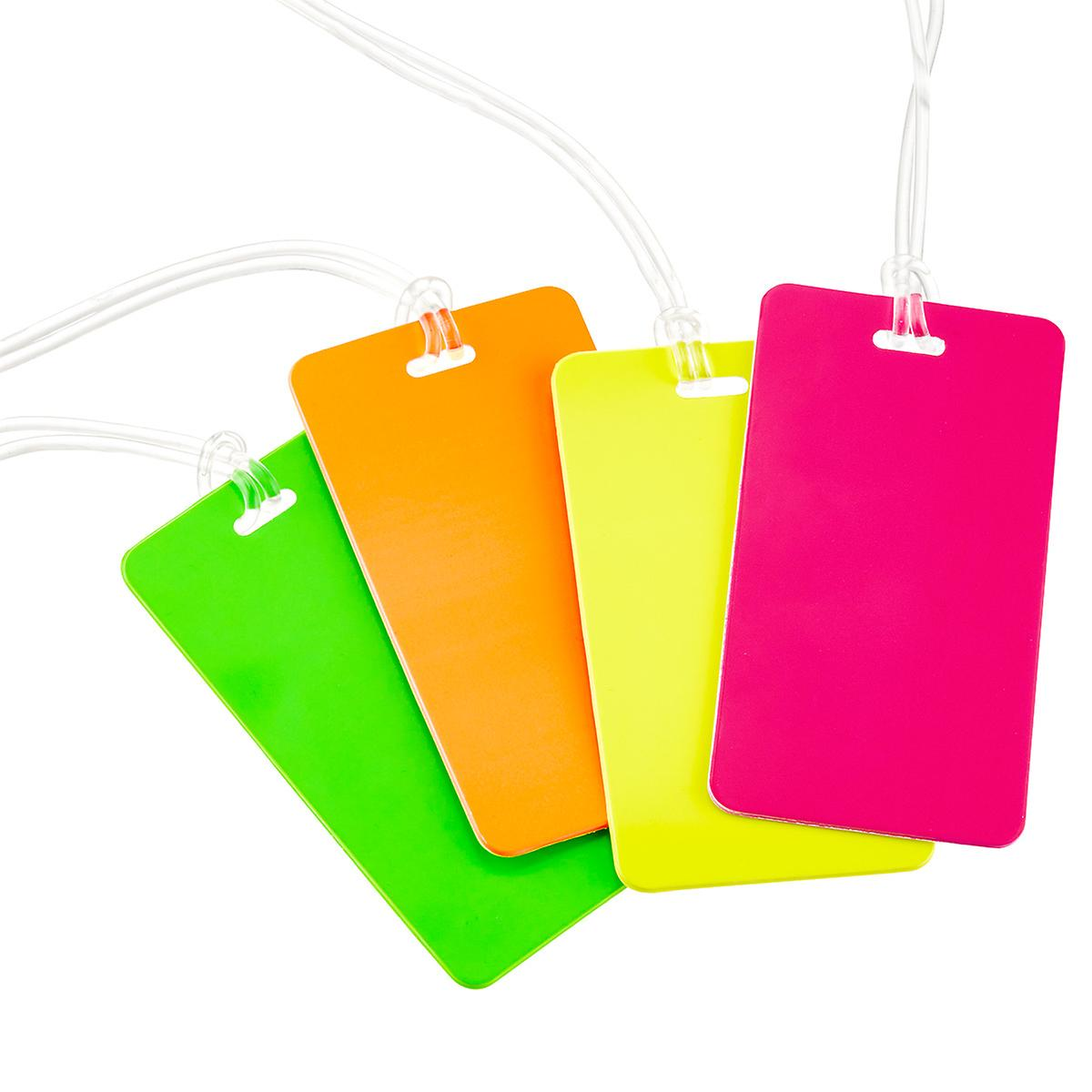 Neon Luggage Tag | The Container Store
