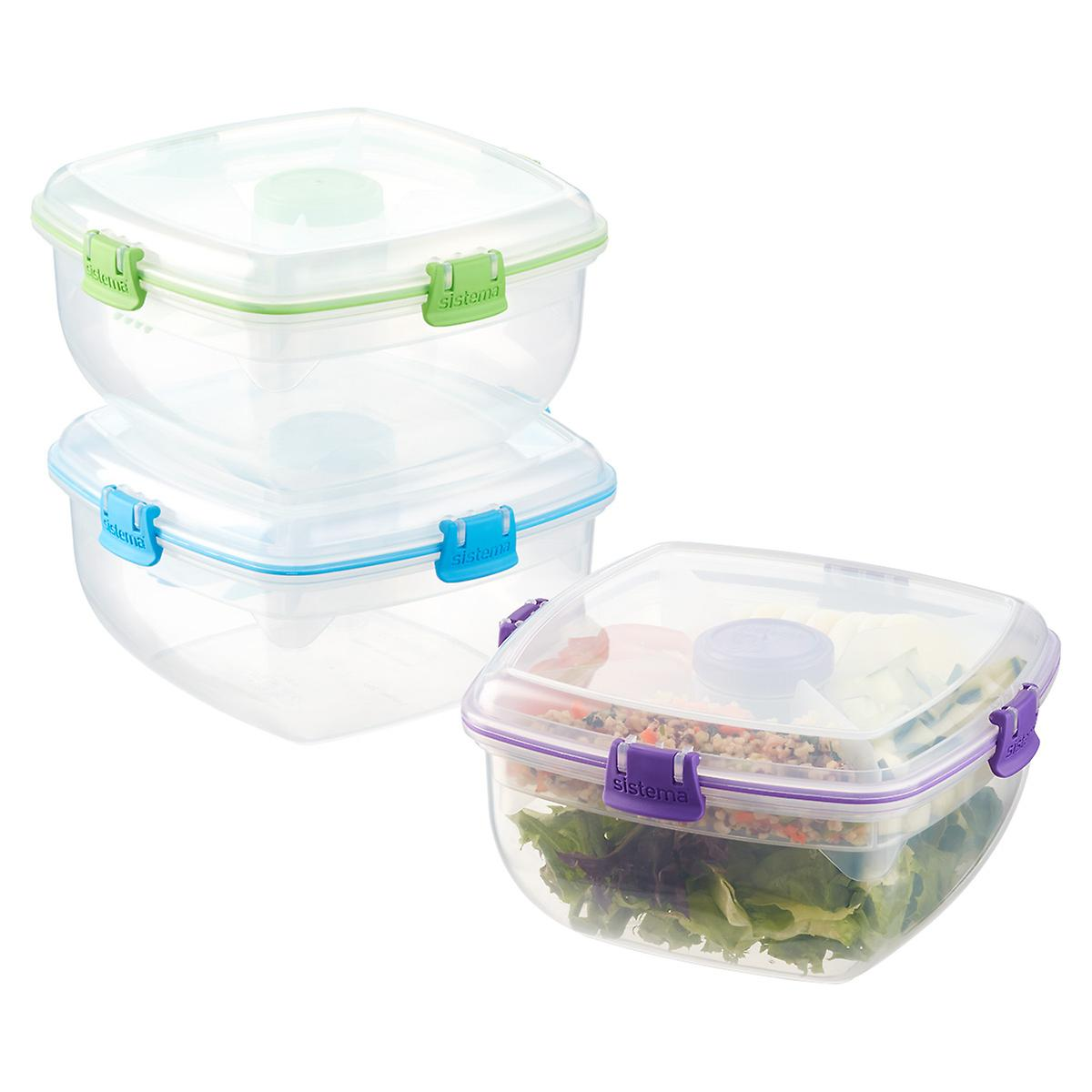 Sistema 13 qt Salad Max Lunch Box The Container Store