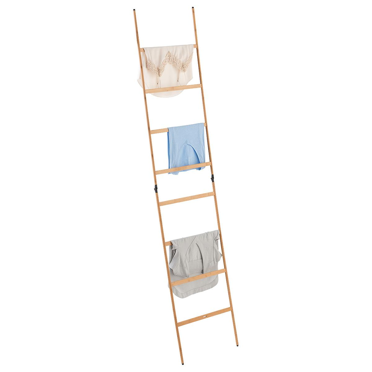 Bamboo Ladder Clothes Drying Rack