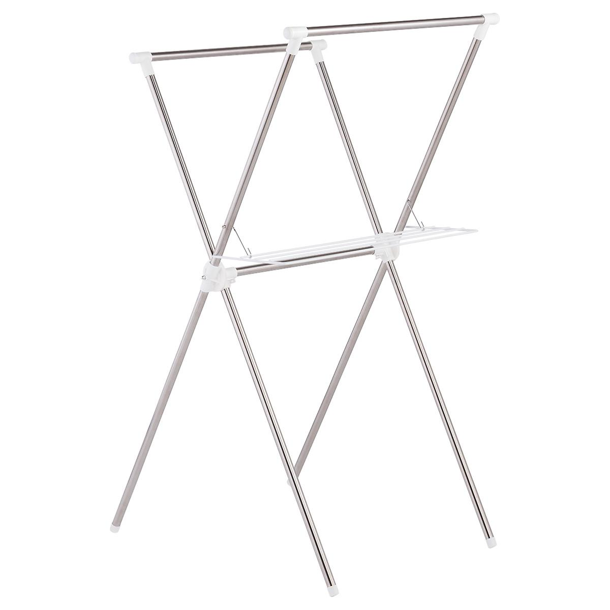 Iris Stainless Steel Folding X-Frame Clothes Drying Rack | The ...