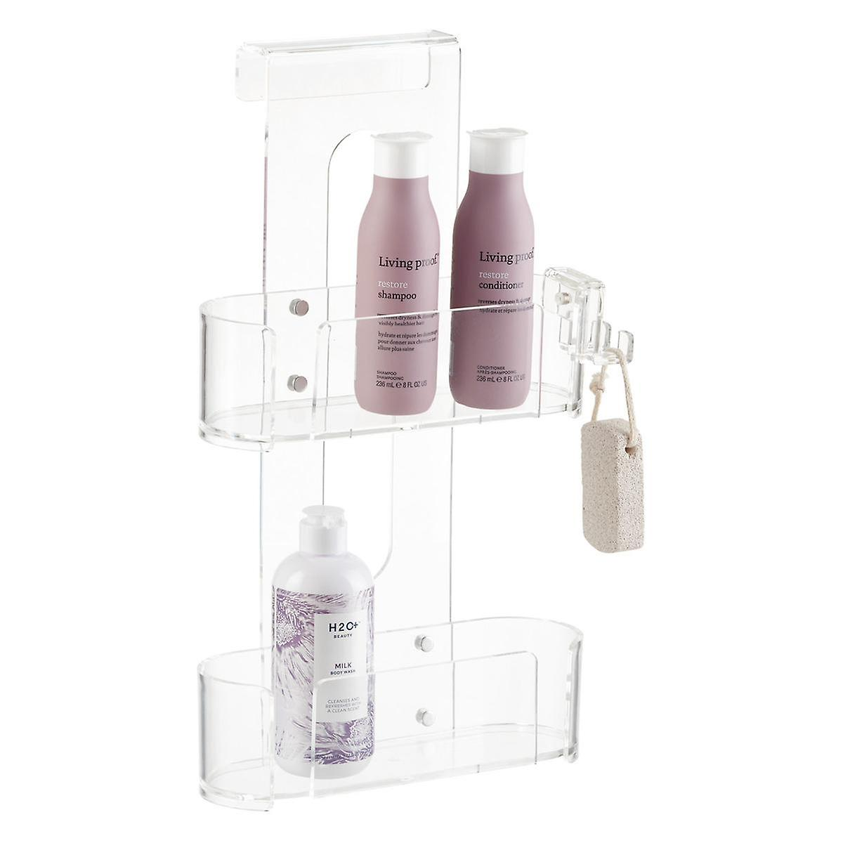 2-Tier Acrylic Shower Caddy | The Container Store