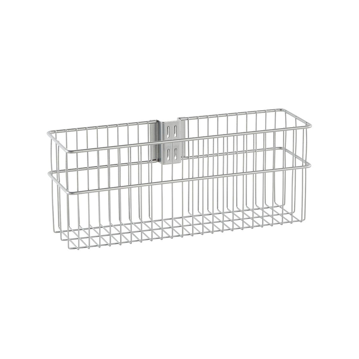 Elfa Utility Platinum Wire Baskets | The Container Store