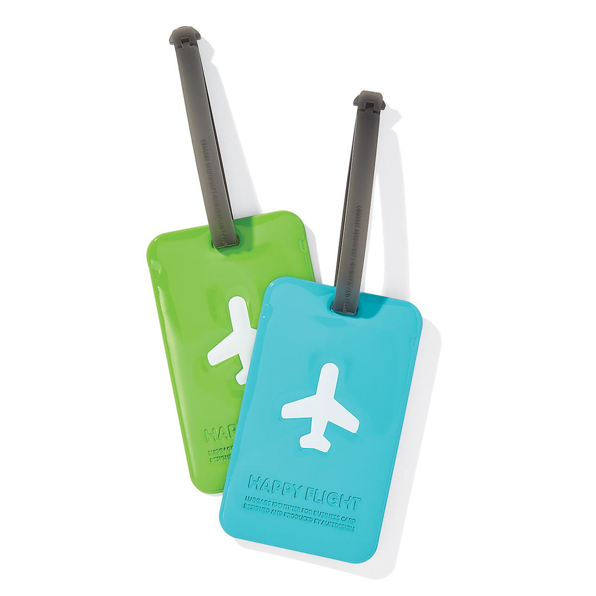Happy Flight Luggage Tags | The Container Store