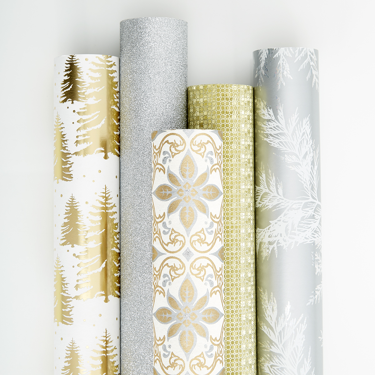 metallic wrapping paper Find a great selection of gift wrapping paper rolls for birthdays and everyday our famous peek-proof wrap is always value-priced at current.