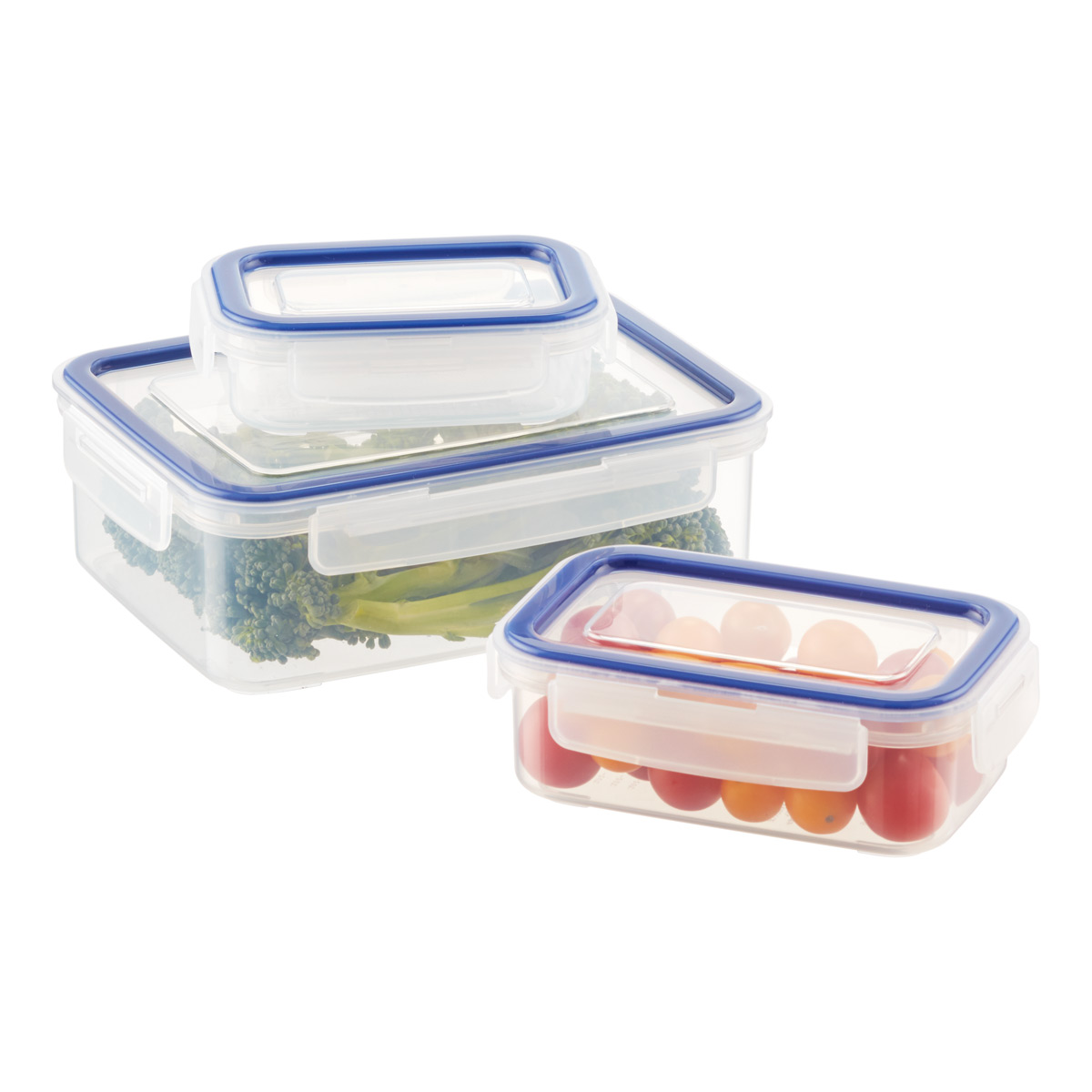 Rectangular Food Storage With Silicone Seals ...