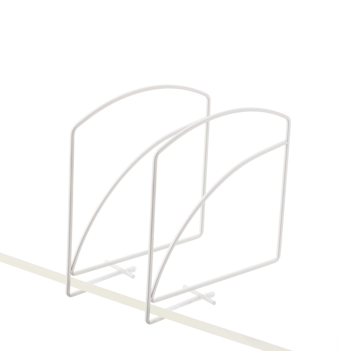 Shelf Dividers - Lynk Solid Shelf Dividers | The Container Store
