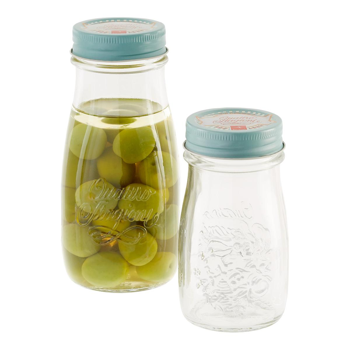 Quattro Stagioni Vintage Glass Bottles The Container Store
