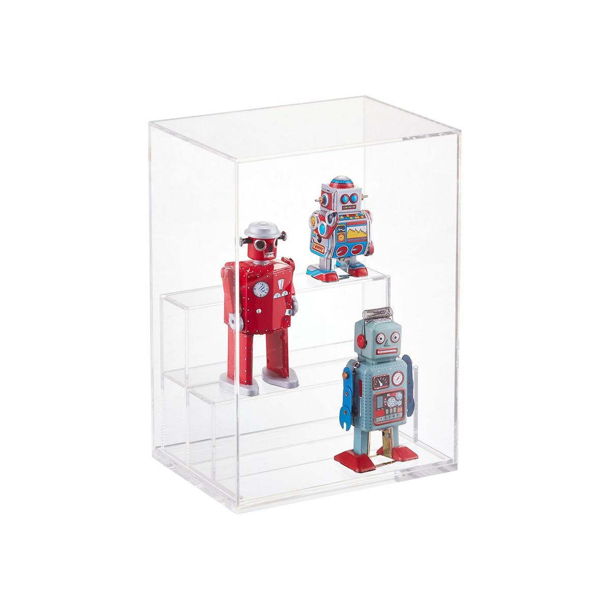 Small Modular Acrylic Premium Display Case The Container Store