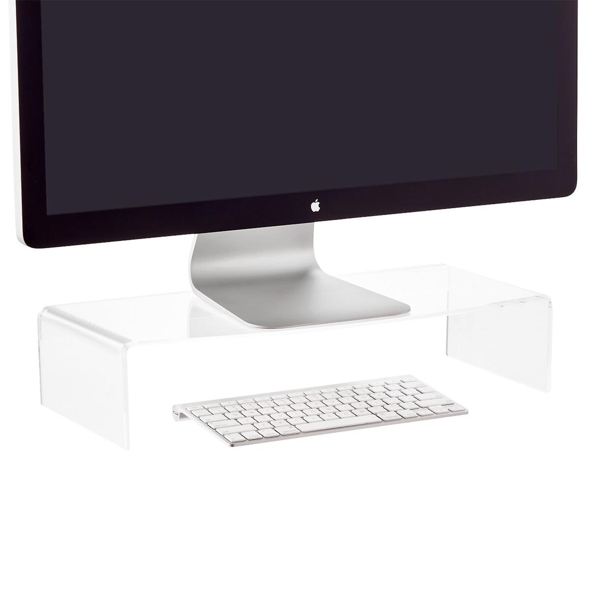 Clear Acrylic Monitor Riser