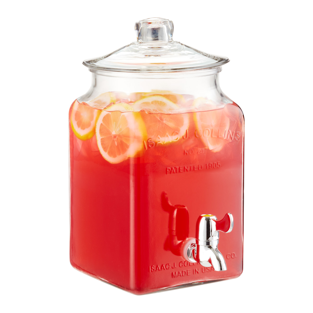 glass drink dispenser u0026 - Drink Dispensers