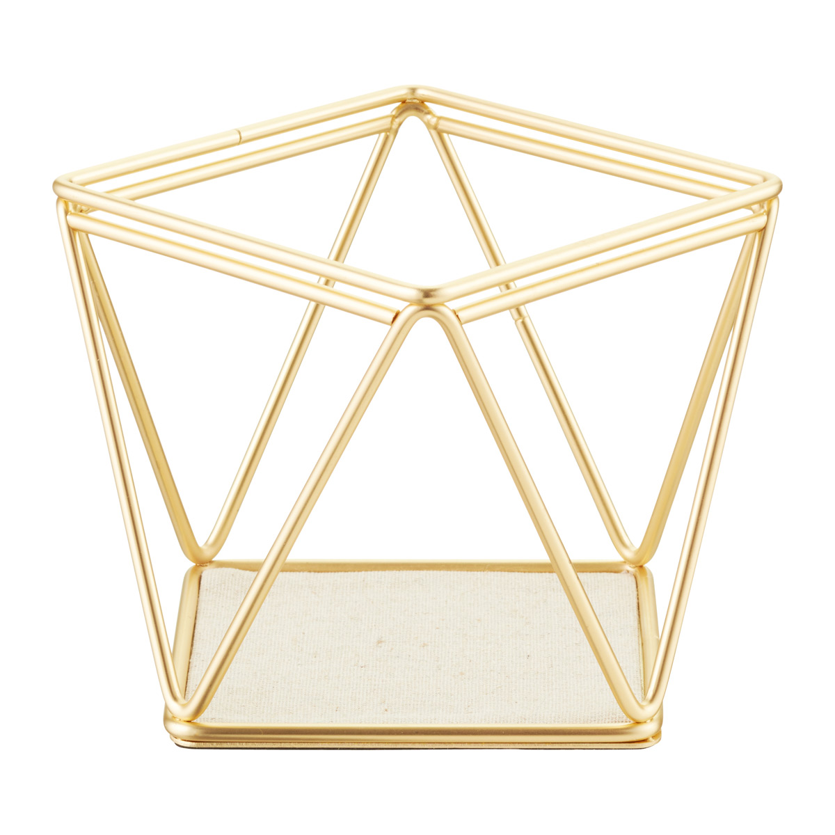 Umbra Gold Prisma Bracelet Earring Holder The Container Store