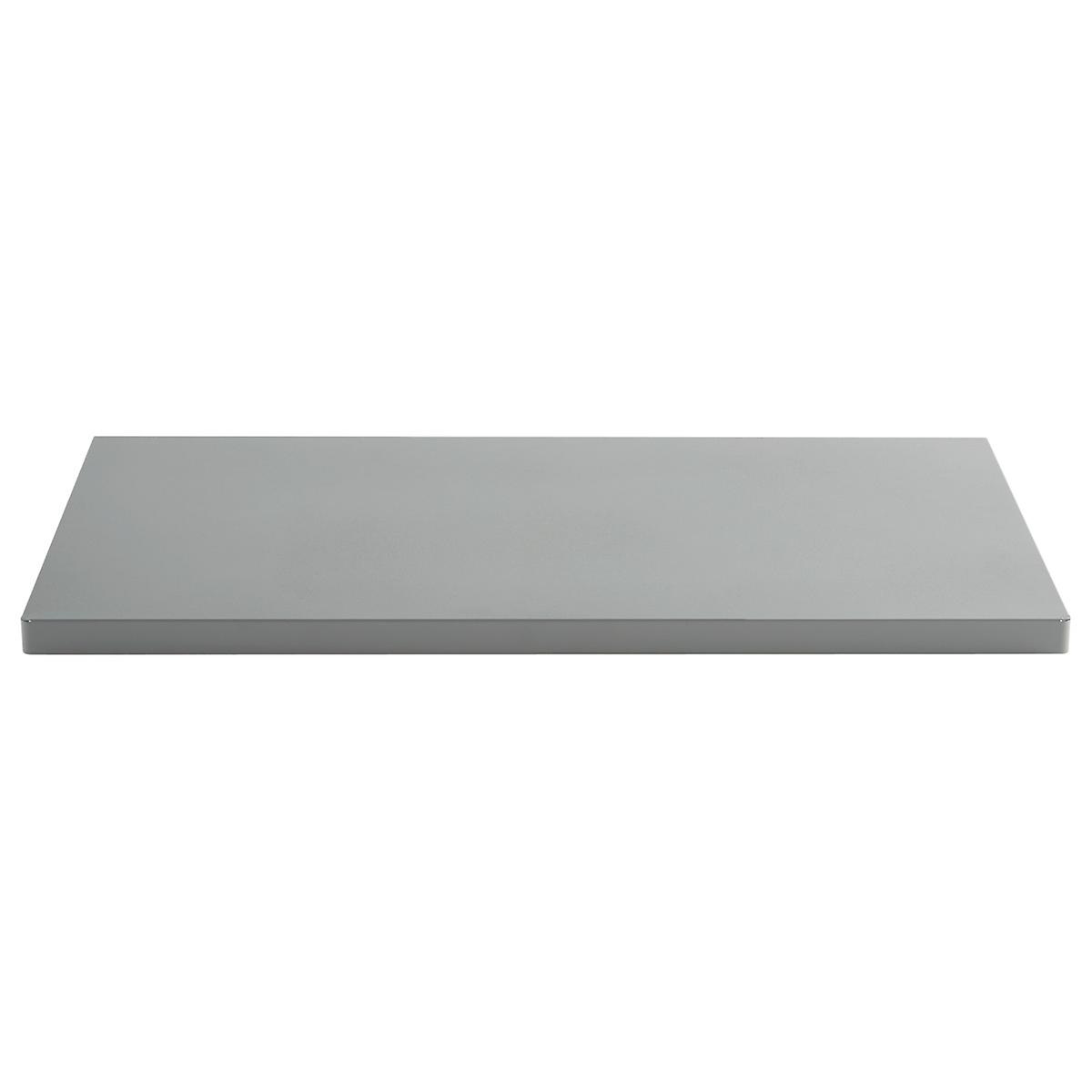 Grey elfa utility work surface the container store for Surface container
