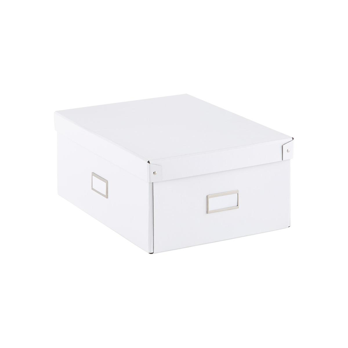Our White Bigso Storage Boxes The Container Store