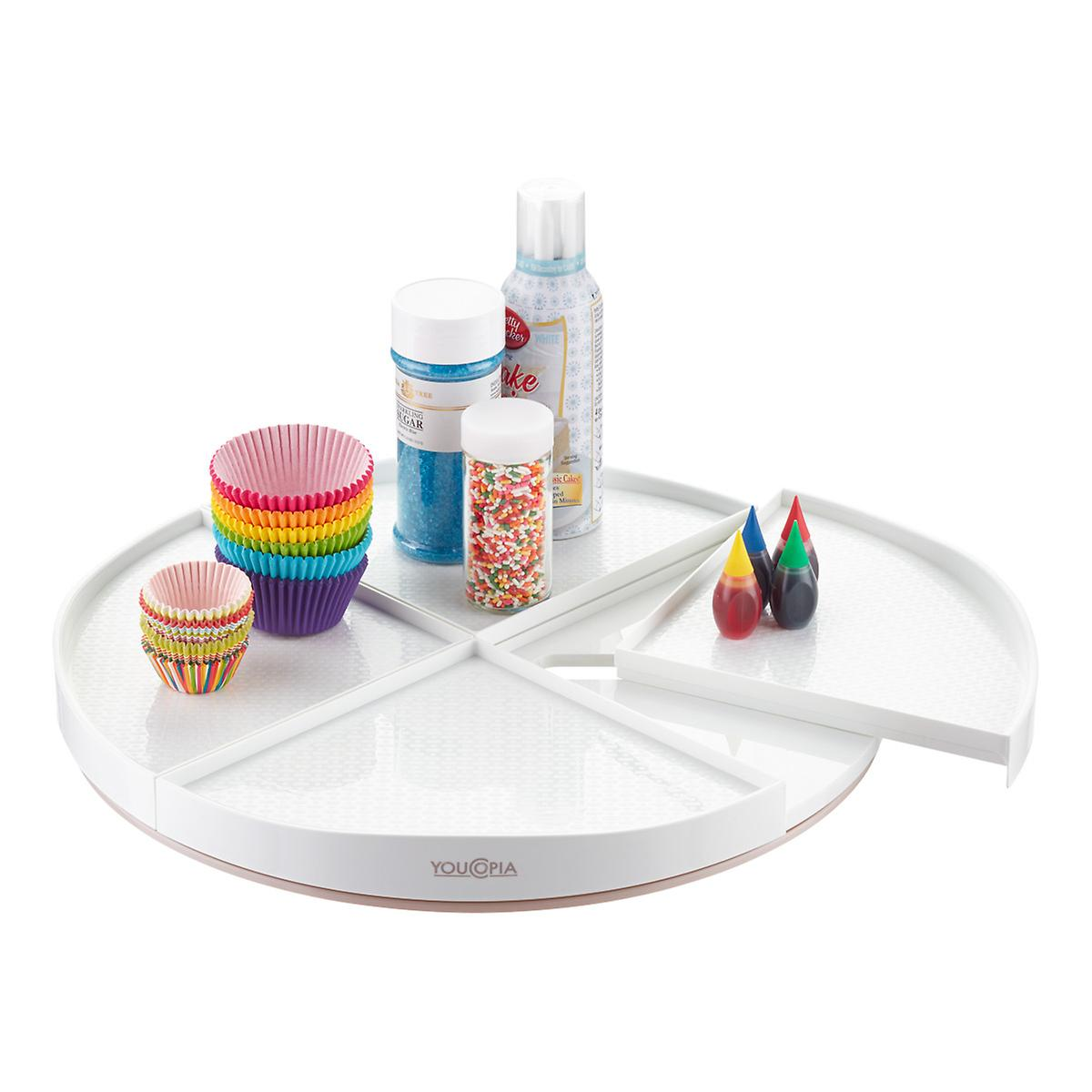 Youcopia White Crazy Susan Lazy Susan The Container Store