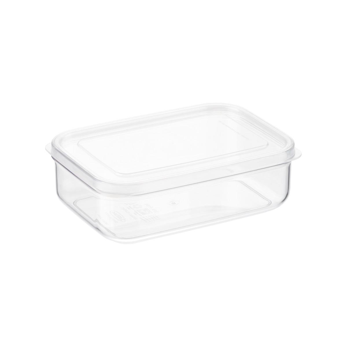 Crystal Clear Rectangular Food Storage