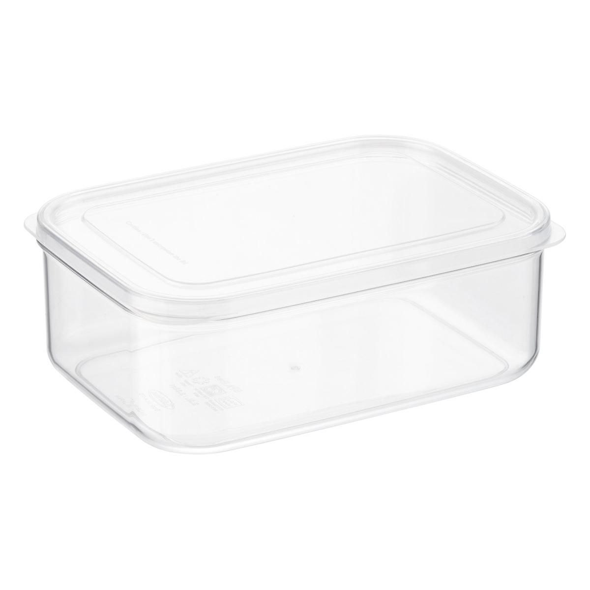 Crystal Clear Rectangular Food Storage The Container Store