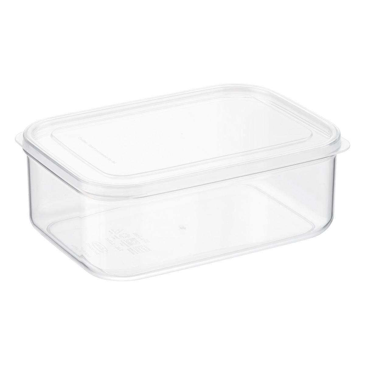 Charmant Crystal Clear Rectangular Food Storage