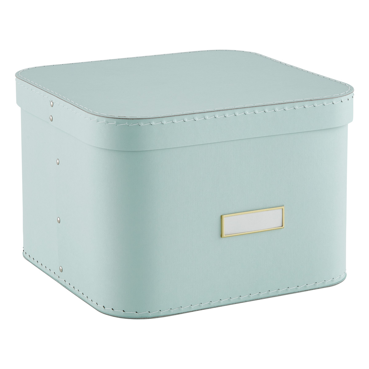 Mint Oskar Storage Box with Lid  sc 1 st  The Container Store & Mint Oskar Storage Box with Lid | The Container Store